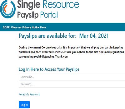 Single Resource Payslip