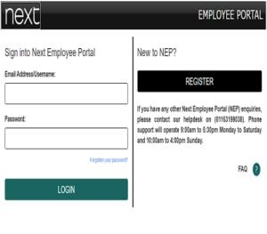 Next Employee Portal