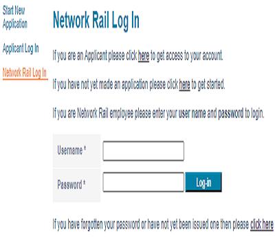 network rail epay login